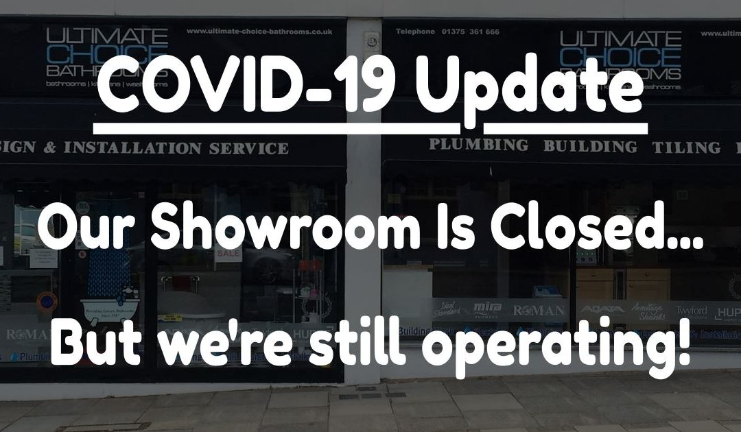 Our Showroom Is Closed… But We're Still Operating!